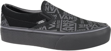 Vans 66 Classic Slip On Platform Shoes VN0A3JEZWW0 Black 36.5