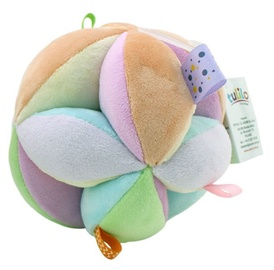 Axiom Pastel Ball With Rattle 11cm