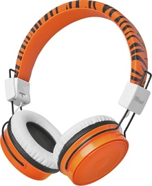 Trust Comi Bluetooth Wireless Kids Over-Ear Headphones Orange