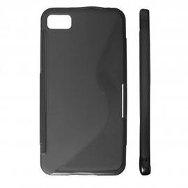 KLT Back Case S-Line HTC One S Z520e Silicone/Plastic Black