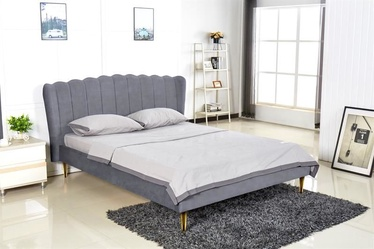 Halmar Bed Valverde 160 Grey