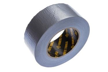 Клейкая полоска Forte Tools Cloth Tape, Односторонняя, 50 м x 5 см