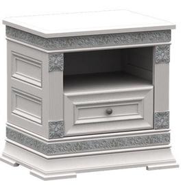 Ночной столик ZOV T1-60 2890014 White