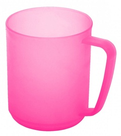Plast Team Hawaii Cup With Handle 10.7x7.8x9.6cm 0.35l Pink