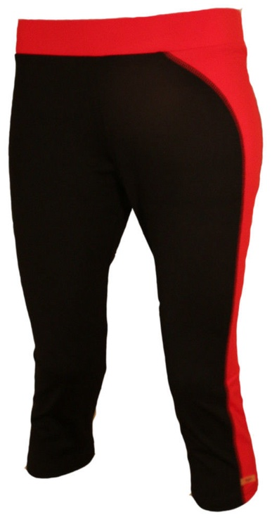 Bars Womens Trousers Black/Red 125 XL