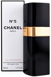 Tualettvesi Chanel No.5 50ml EDT Refillable Spray