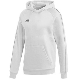 Adidas Core 18 Hoodie Youth FS1891 White 128cm
