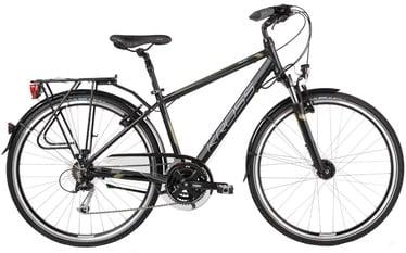 "Jalgratas Kross Trans Pacific XL 28"" Black Khaki Matte 17"