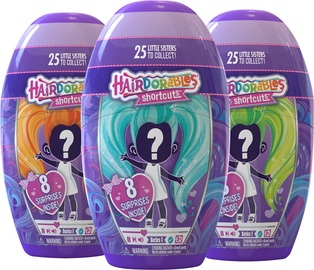 Mängukujuke Hairdorables Shortcuts Surprise Doll With Accessories Series 1 23660