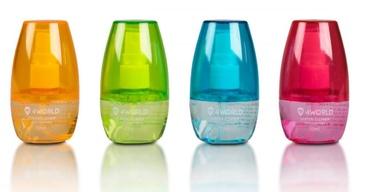 4World Cleaning Kit 50ml+Cloth 12pcs Colour Mix
