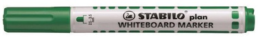 Stabilo Plan Whiteboard Marker Green