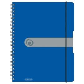 Herlitz Spiral Pad To Go A4 Blue 11293065