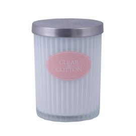 Ароматическая свеча Diana Candle Cotton White, 7.5 x 9.5 см, 35 h