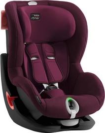 Britax Romer Seat Black Series King II LS Burgundy Red