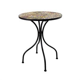 Садовый стол Home4you Morocco Mosaic, 60 x 60 x 71 см
