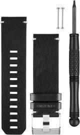 Garmin Quatix 3 Black Leather Watch Band