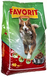Favorit Dry Dog Food Beef 10kg