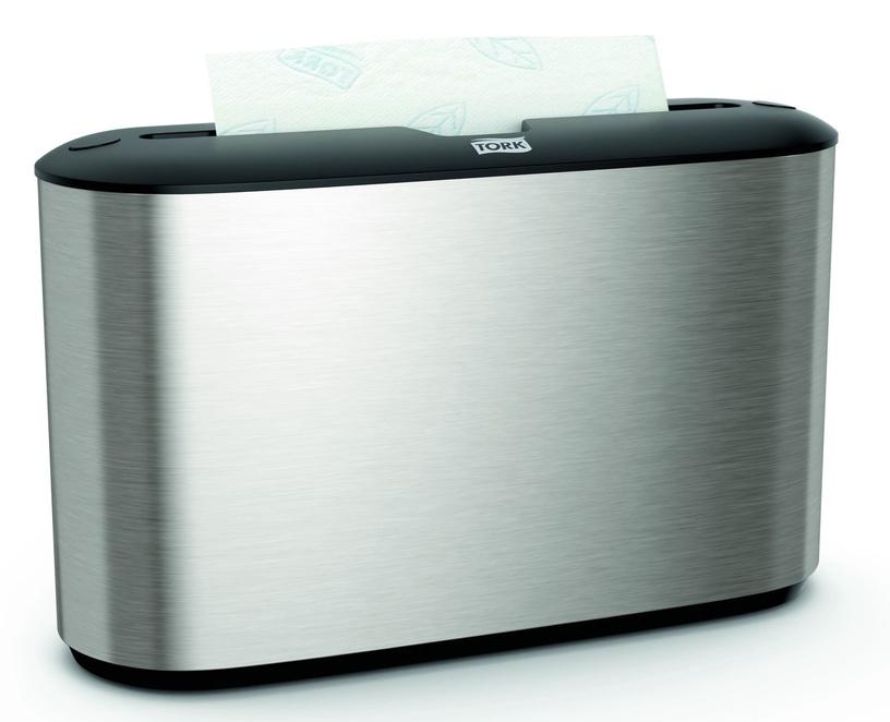 Tork Xpress Countertop Multifold Hand Towel Dispenser Silver