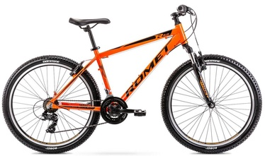 "Велосипед Romet Rambler R6.0 Orange 2021, 17"", 26″"