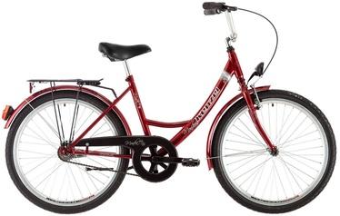 """Jalgratas Kenzel Monika, punane, 17"""", 26"""""""