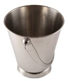 Sharda Metal Bucket With Base D7cm