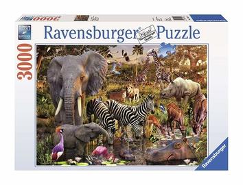 Pusle Ravensburger African Animals, 3000 tk