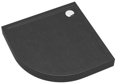 Vento Shower Tray 900x120x900mm Anthracite