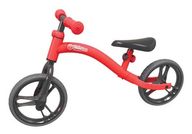 Lastejalgratas YVolution YVelo Air Balance Bike Red 100820