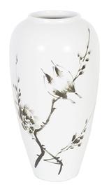 Home4you Yoko Ceramic Vase Birds H26cm White