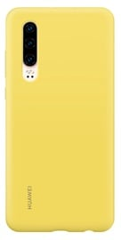 Huawei Silicone Back Cover for Huawei P30 Yellow