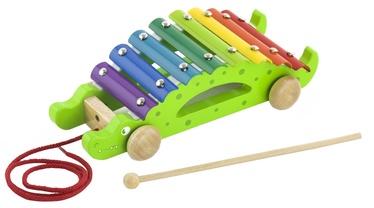 Viga Pull Along Xylophone Musical Toy Crocodile 50342