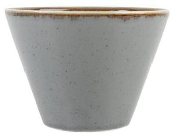 Porland Seasons Conical Bowl D11.5cm Dark Grey