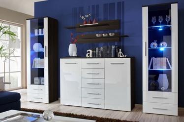ASM Galino D Wall Unit Wenge/White Gloss