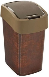 Curver Deco Flip Bin 25l Leather