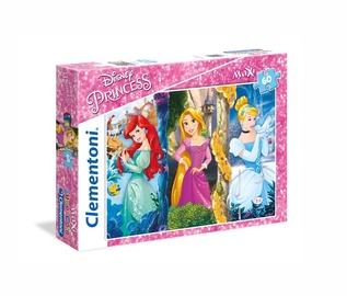 Pusle Clementoni Maxi Disney Princess 26416, 60 tk