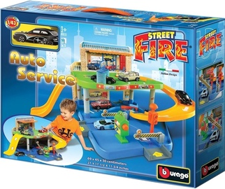 Bburago Street Fire Auto Service 18-30039