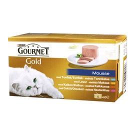 Purina Gourmet Gold Pate 340g 4pcs