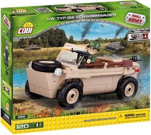 Cobi Small Army WW2 VW Typ 166 Schwimmwagen 2188
