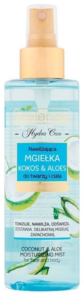 Bielenda Hydra Care Coconut & Aloe Face And Body Mist 200ml