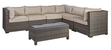 Home4you Sevilla Garden Furniture Set Dark Brown