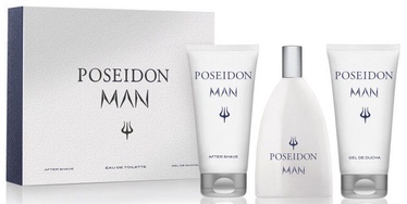 Instituto Español Poseidon Man 150ml EDT + 150ml After Shave + 150ml Shower Gel