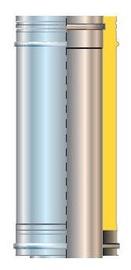 Cordivari Isolated Chimney Pipe D80 1m