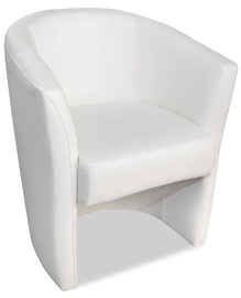 Platan Armchair Oxford White
