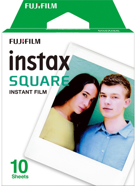 Fujifilm Instax SHARE SP-3 Wi-Fi White + Instax Square Glossy 10 pcs.