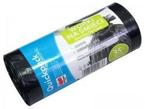 Vigo Quickpack Economic Trash Bags 35L 15pcs Black