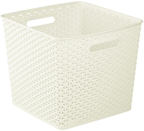 Curver My Style Square Basket Cream