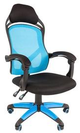 Игровое кресло Chairman Game 12 Black Blue