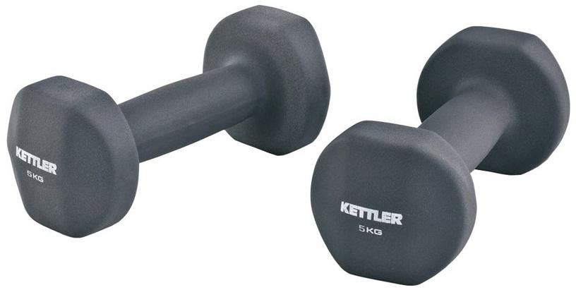 Kettler 7371-100 Neoprene Dumbbells 2x5 kg