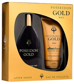 Komplekt meestele Instituto Español Poseidon Gold 150 ml EDT + 50 ml Aftershave Balm