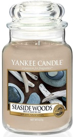 Lõhnaküünal Yankee Candle Classic Large Jar Seaside Woods, 623 g, 110 h